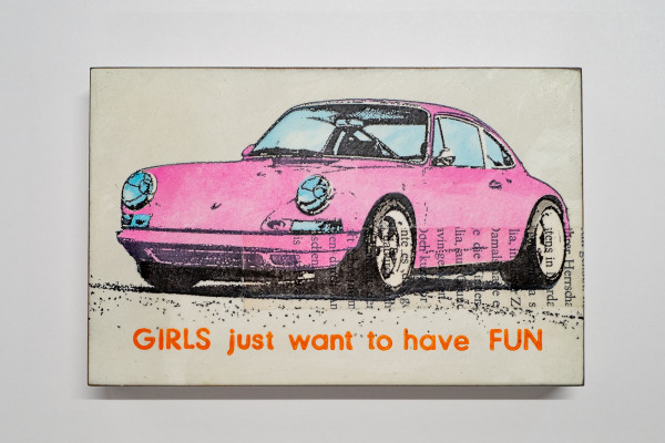 Jan M. Petersen: Porsche pink, GIRLS just want to have FUN, Auflage 5/12