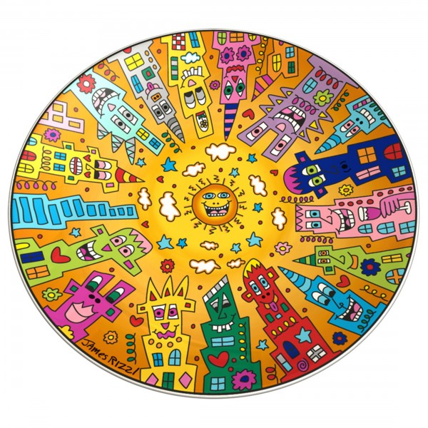 James Rizzi: City Sunset - Schale