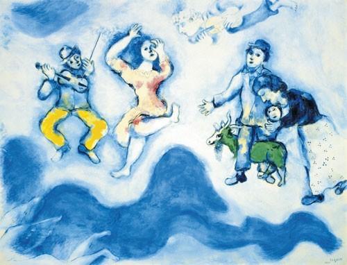 Marc Chagall | Die Gefährten Charlots