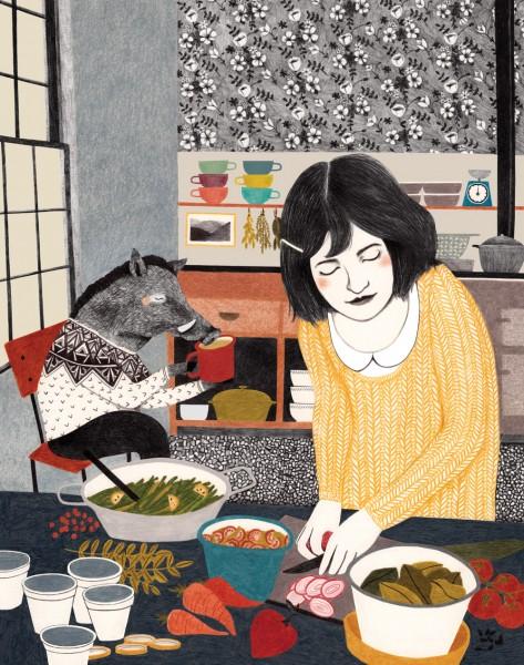 Lieke van der Vorst : Keukenkameraad