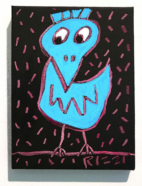 "James Rizzi: ""Rizzi Bird"", 2010 (Acryl), Unikat (signiert)"