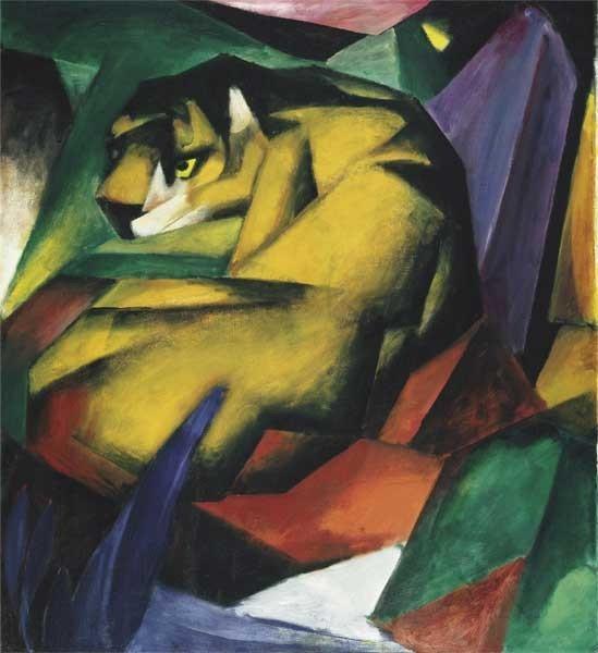 Franz Marc | Der Tiger, 1912
