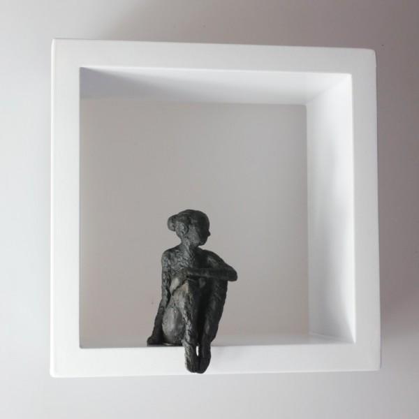 Susanne Kraißer |  Kleine Sitzende VI, 2017