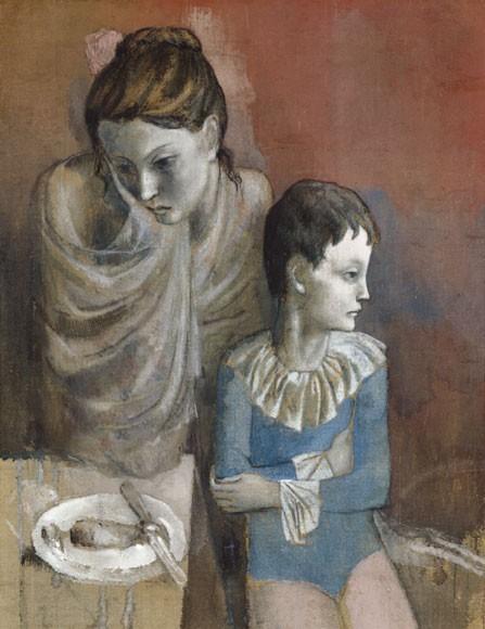 Pablo Picasso | Mutter mit Kind (Gaukler), 1905