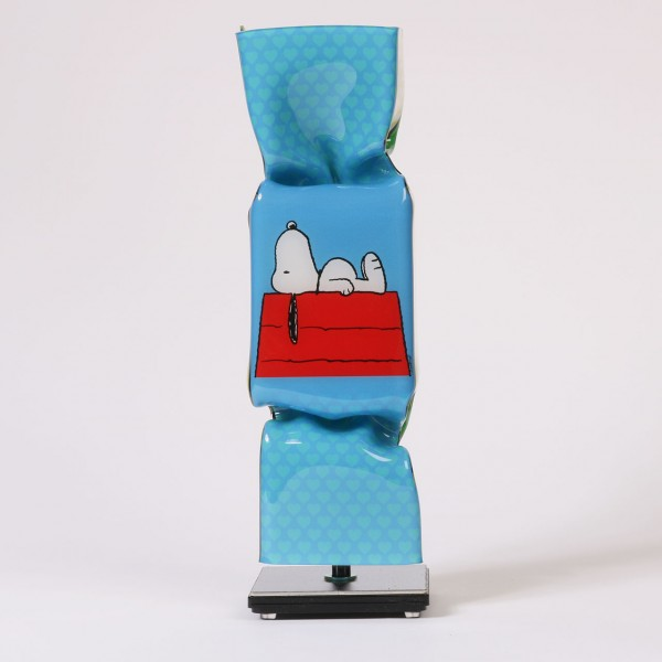 Art Candy Toffee   Pop Art Snoopy (Hellblau)