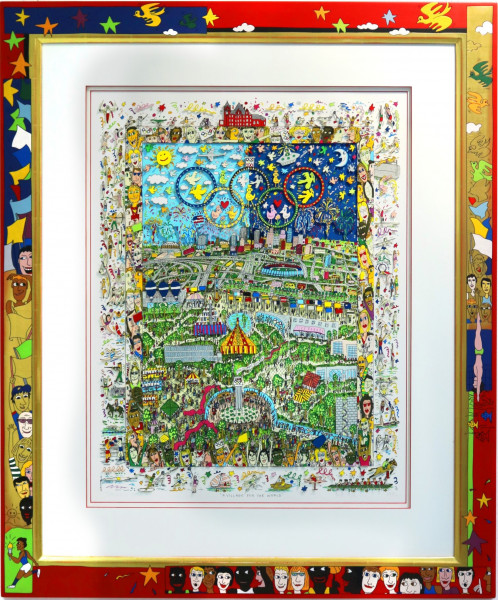 JAMES RIZZI – A VILLAGE FOR THE WORLD (1996) | 3D-Grafik