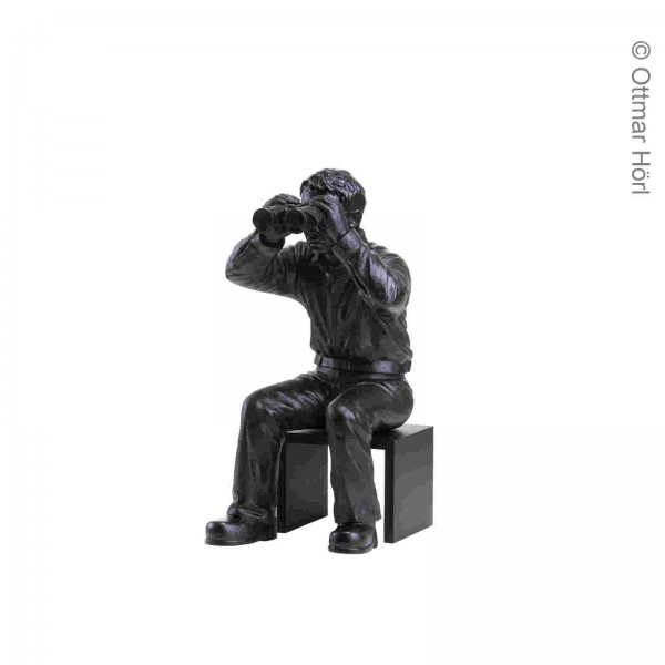 Ottmar Hörl | Weltanschauungsmodell IA, 2006, Füße aufgestellt, mit Sockel