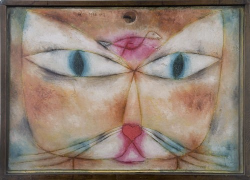 Paul Klee | Katze und Vogel, 128,73 (Qu3)