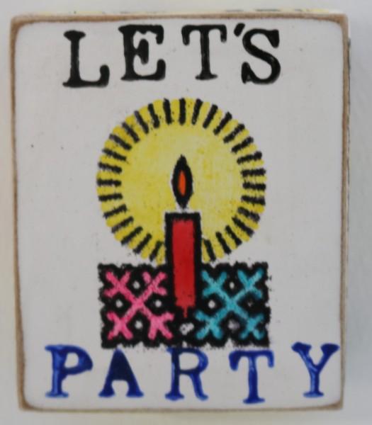 Kati Elm | Let's Party (Kerze) (Mini)