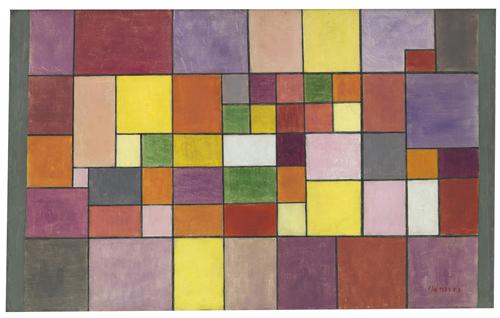 Paul Klee | Harmonie der nördlichen Flora, 1927, 144
