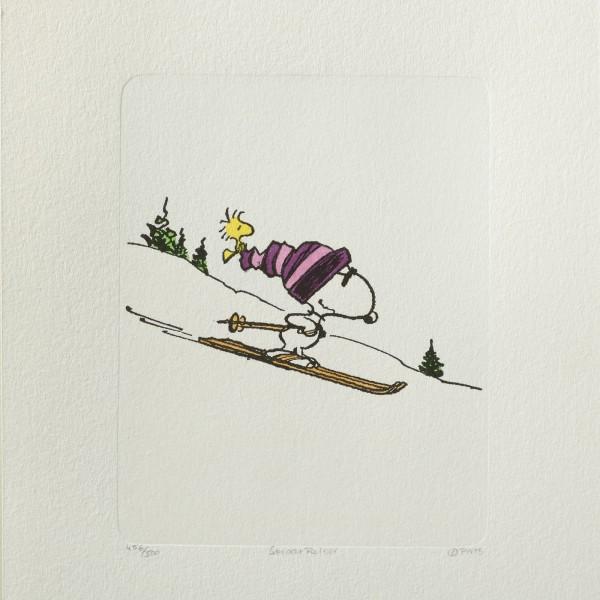 Charles M. Schulz: Peanuts - Snoopy, 09, groß. Original-Radierung