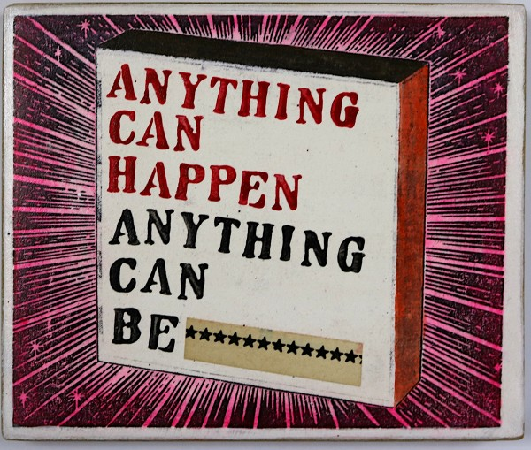 Kati Elm: Anything can happen Anything can be, 2018