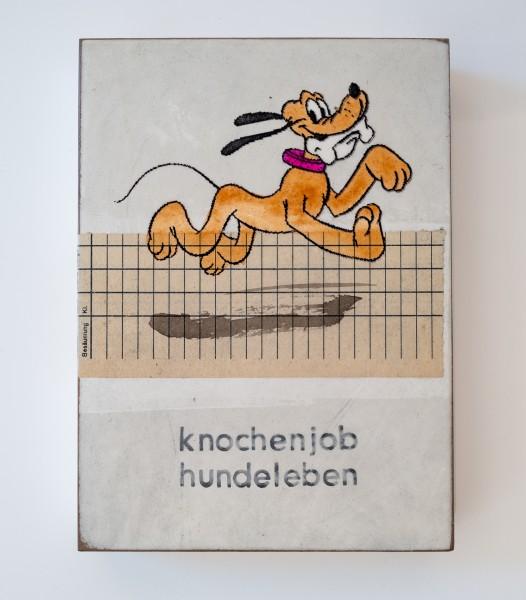Jan M. Petersen: Knochenjob Hundeleben, Auflage 1/12