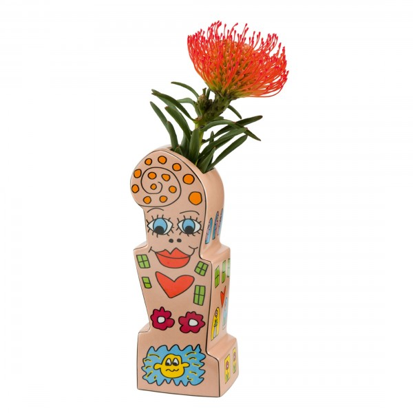 James Rizzi: Flowers For My Girl - Vase