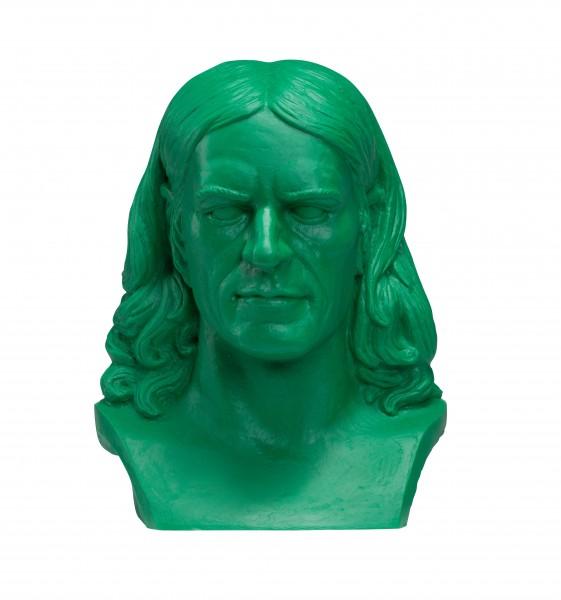 Ottmar Hörl: Friedrich Rückert, 2016 (grün)