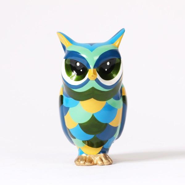 Lili Owl   blue-green