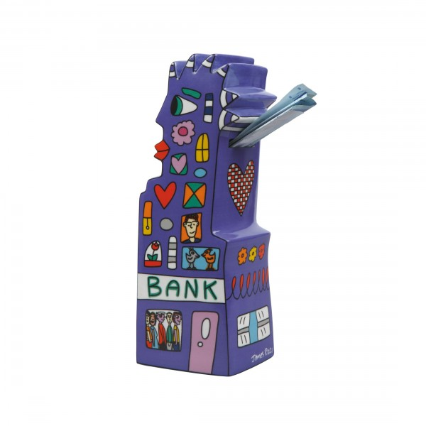 James Rizzi: My Pointy Piggy Bank - Spardose
