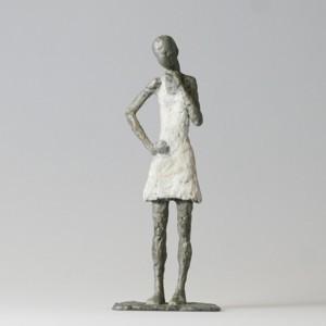 Susanne Kraißer |  Mädchen mit Mini VI, 2012