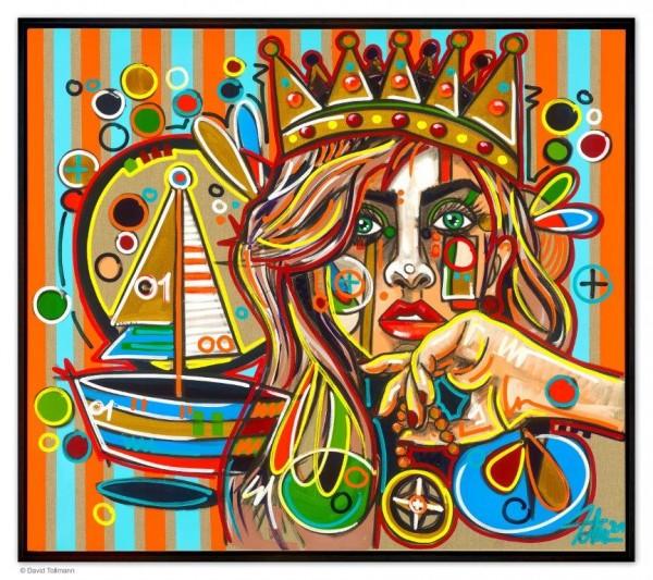 David Tollmann - Sailors Queen (Handübermalt)