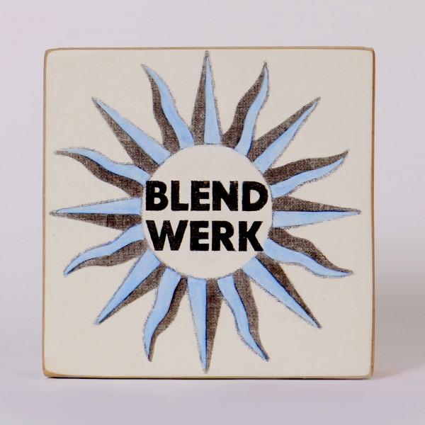 Kati Elm | Blendwerk - Nitrofrottage mit Acryl und Papiercollage