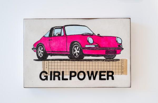 Jan M. Petersen: GIRLPOWER (lila Porsche)