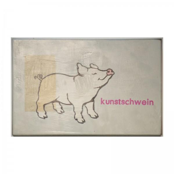 Jan M. Petersen: kunstschwein, 2016