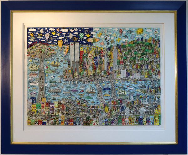 JAMES RIZZI – NEW YORK CITY - A MARATHON FOR ALL (1997) | 3D-Grafik