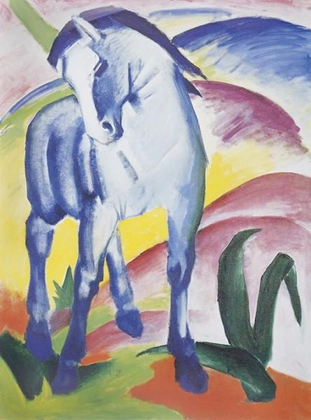 Franz Marc | Blaues Pferd I, 1911