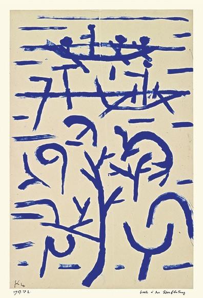 Paul Klee | Boote in der Überflutung, 1938, 222 (V2)