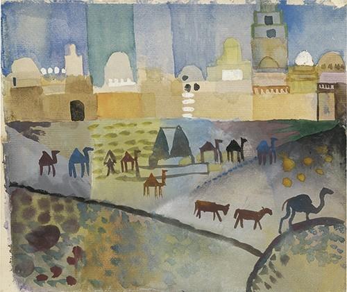 August Macke | Kairouan I, 1914