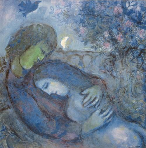 Marc Chagall | Traum der Liebenden, ca. 1962