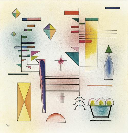 Wassily Kandinsky | Klangvoll, 1929