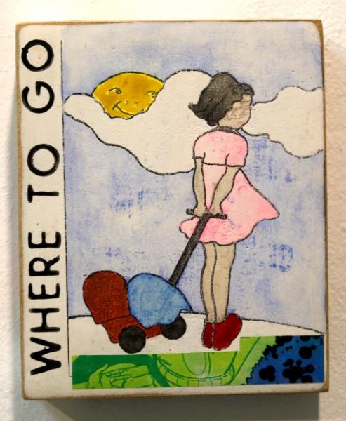 Kati Elm | WHERE TO GO (Mädchen im rosa Kleid)