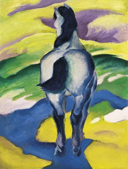 Franz Marc | Blaues Pferd II, 1911