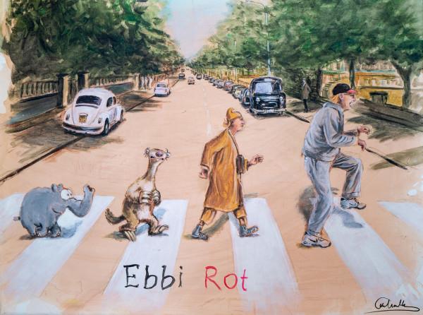 Otto Waalkes: Ebbi Rot Sid, Auflage 36/199, handsigniert