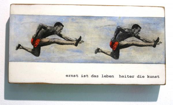 Kati Elm | ernst ist das leben heiter die kunst (Sprinter)