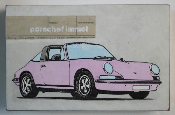 Porschefimmel rosa | Jan M. Petersen