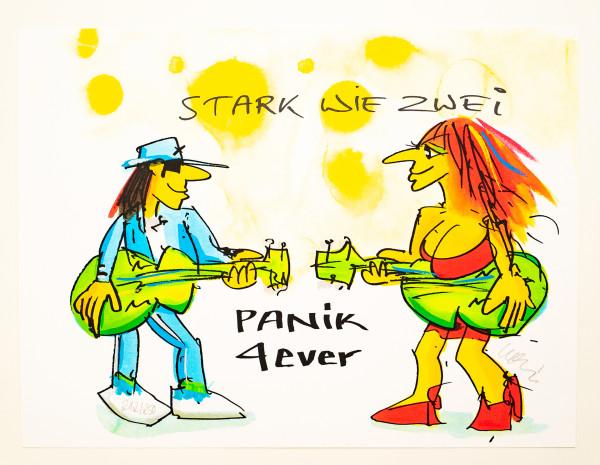Udo Lindenberg: Stark wie zwei PANIK 4ever, Auflage 212/250